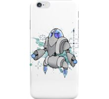 Halftone Robot iPhone Case/Skin