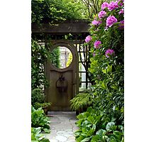 My Secret Garden Photographic Print