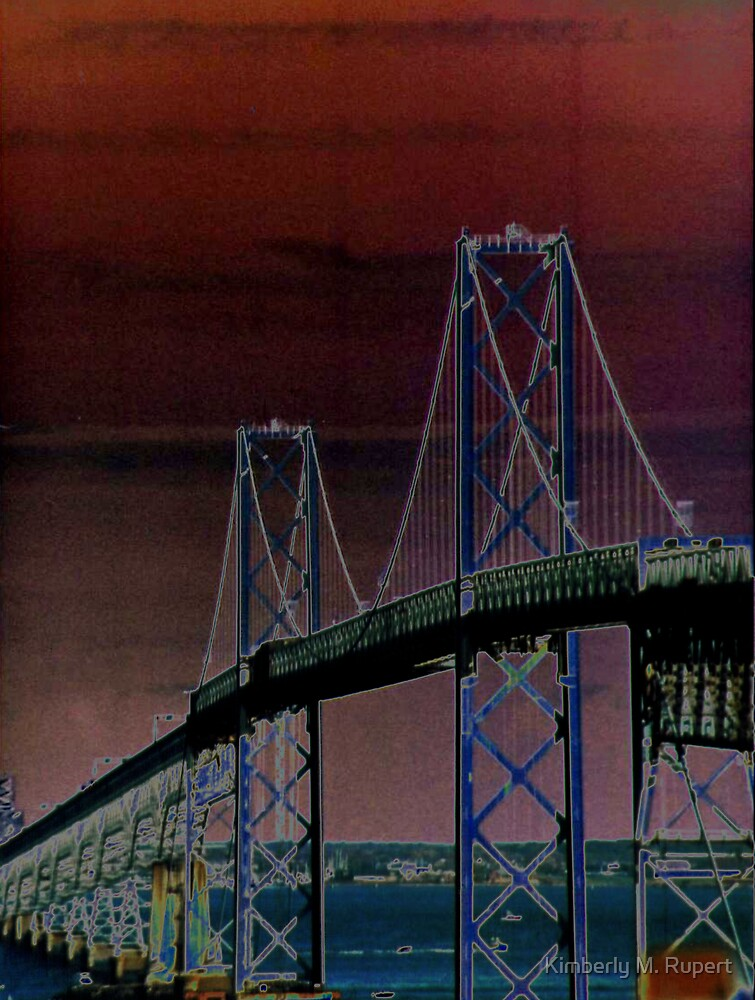 The Bay Bridge by Kimberly M. Rupert