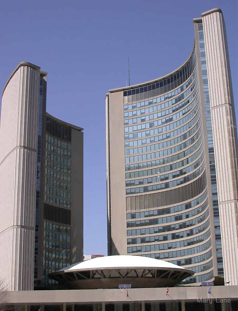Toronto City Hall by Mary  Lane
