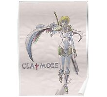 Clare From Claymore  Poster