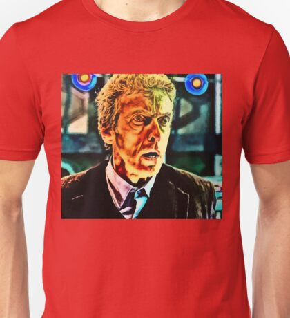 Doctor Who - Regeneration in Twelfth Unisex T-Shirt