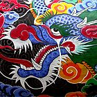 Colorful Dragon by Mary  Lane