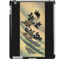 'Turtles' by Katsushika Hokusai (Reproduction). iPad Case/Skin
