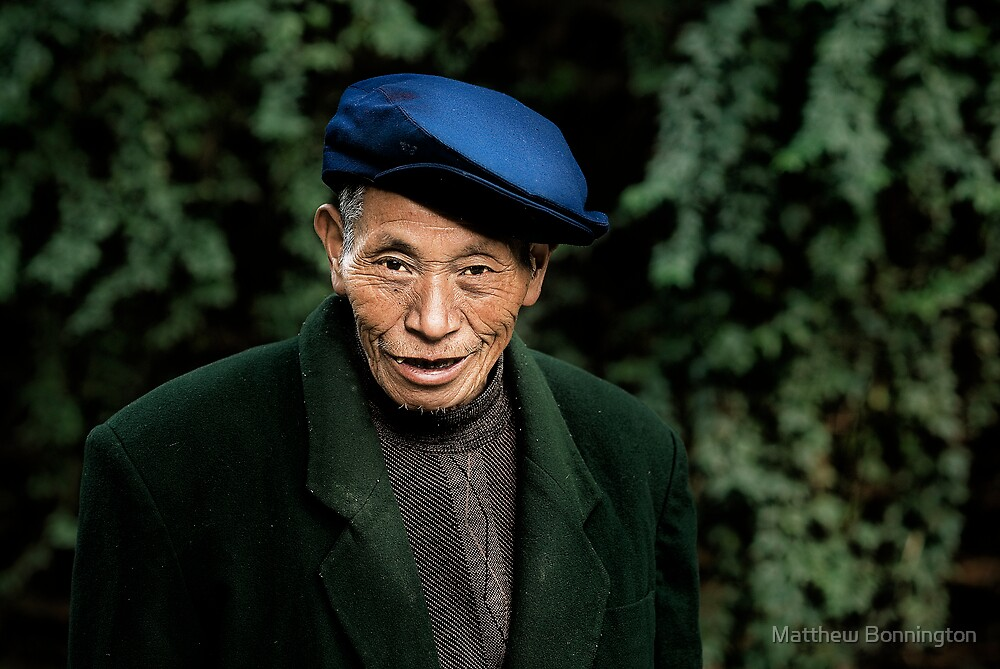 Chinese man by Matthew Bonnington