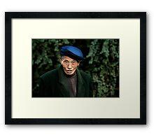 Chinese man Framed Print