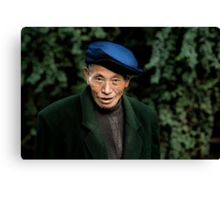 Chinese man Canvas Print