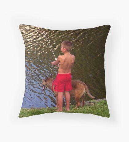 Adam & Sable Throw Pillow
