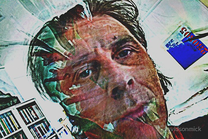 Self portrait 2 by davidsonmick