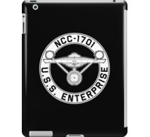 USS Enterprise Logo - Star Trek - NCC-1701 (TOS) iPad Case/Skin