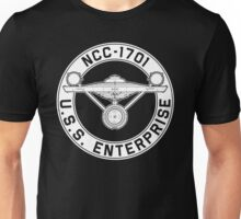 USS Enterprise Logo - Star Trek - NCC-1701 (TOS) Unisex T-Shirt