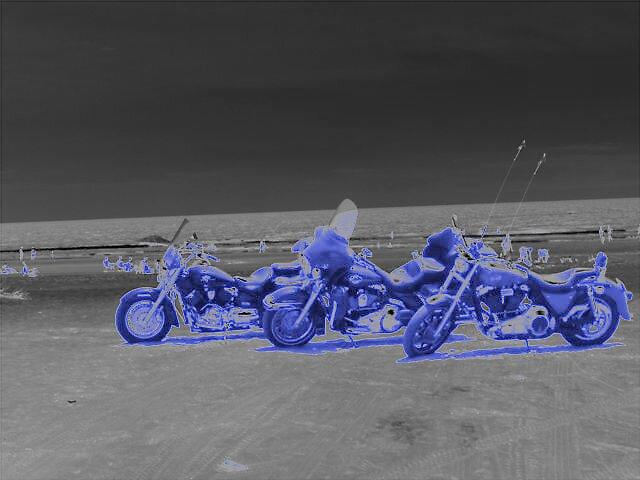 Three Surrealistic Bikes by Joseph Klatka