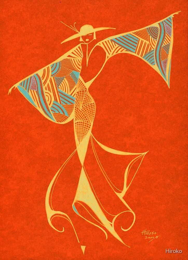 Brazilian Dancer - Series 2 by Hiroko