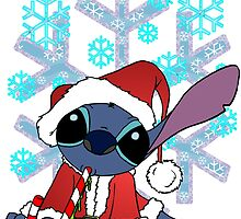Stitch Claus by Skree