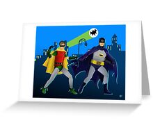 The Dynamic Duo Greeting Card