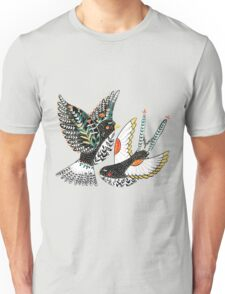 Sparrow & Swallow Unisex T-Shirt