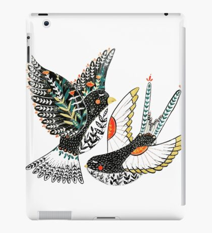 Sparrow & Swallow iPad Case/Skin