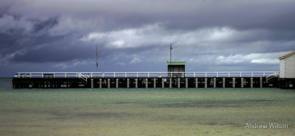 Sorrento pier by Andrew Wilson