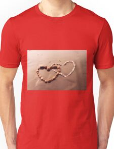 Pebble Hearts Unisex T-Shirt