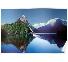 Mirror Of Milford Sound Poster