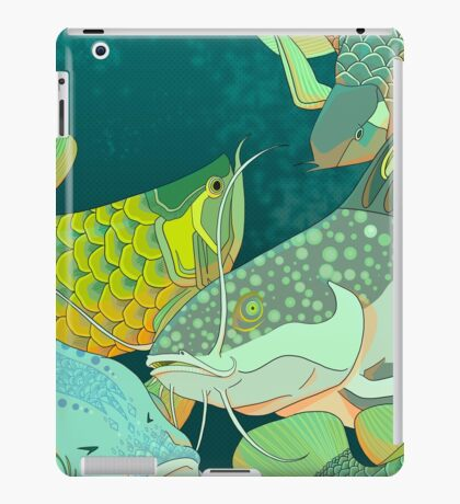 Golden Arowana iPad Case/Skin