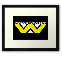 Weyland Yutani Corp Framed Print