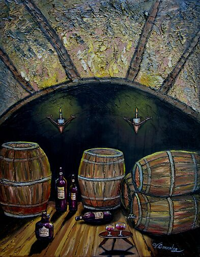 WINE CELLAR by vilma gonzalez