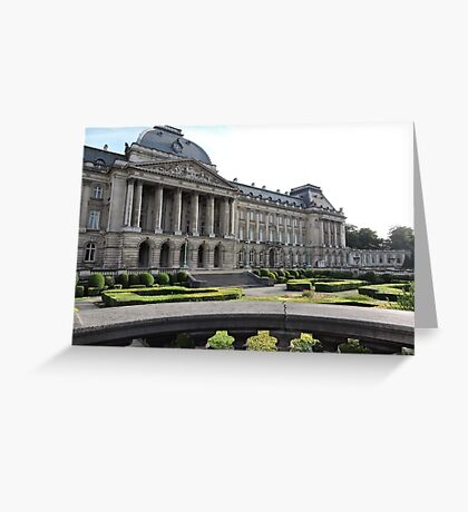Royal Palace Of Brussels Greeting Card