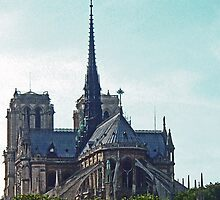 Notre Dame Cathedral by Erika Benoit