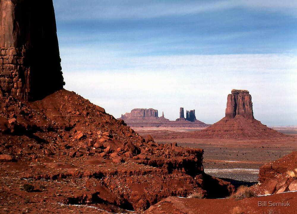 Monument Valley by Bill Serniuk