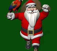 Santa Claus Loves Sweet Parrots by Mythos57