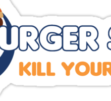"Burger Shot ""Kill your hunger"" Sticker"