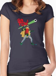 The Boy Wonder Women's Fitted Scoop T-Shirt