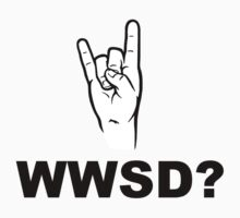 What Would Satan Do?  WWSD? by TheShirtYurt