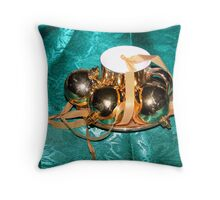 Lots of Gold Throw Pillow