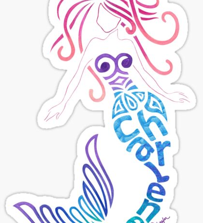 Char's Mermaid Sticker