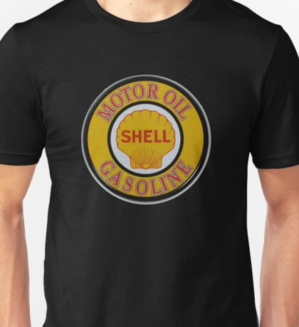 Shell Motor Oil-Gasoline Unisex T-Shirt