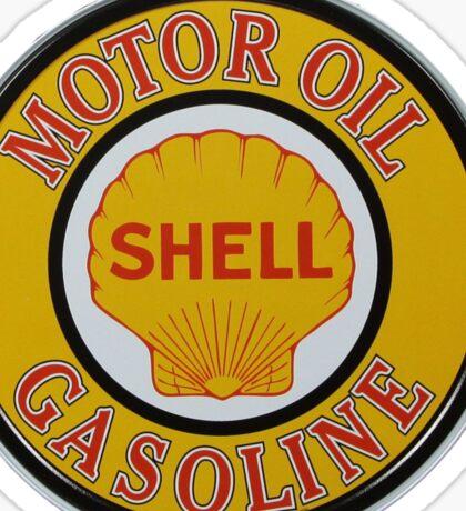 Shell Motor Oil-Gasoline Sticker