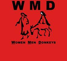 WMD: Women Men Donkeys Unisex T-Shirt