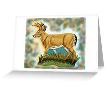 Craft Foam Deer Greeting Card