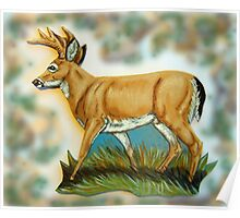 Craft Foam Deer Poster