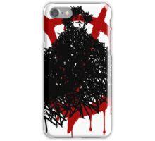 V for Vendetta - V made of V iPhone Case/Skin