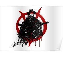 V for Vendetta - V made of V Poster