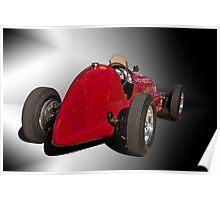 1939 Maserati 8CTF Race Car II Poster