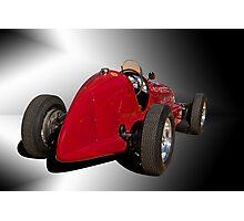1939 Maserati 8CTF Race Car II Photographic Print