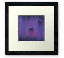 Violet Mystery Framed Print