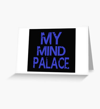 MY MIND PALACE Greeting Card