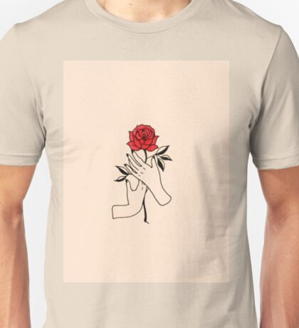 handful of roses Unisex T-Shirt