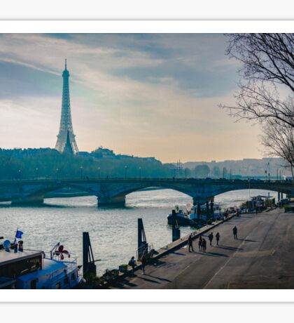 View from the Seine Sticker
