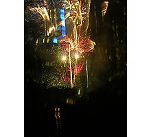 New Years Eve Fireworks Photographic Print
